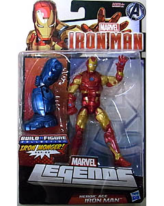 HASBRO MARVEL LEGENDS 2013 IRON MAN IRON MONGER SERIES HEROIC AGE IRON MAN