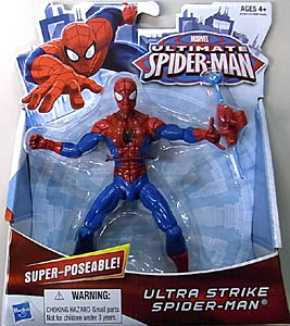 HASBRO ULTIMATE SPIDER-MAN ULTRA STRIKE SPIDER-MAN [SUPER POSEABLE]