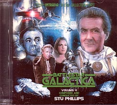 BATTLESTAR GALACTICA VOLUME 4: ORIGINAL TV SOUNDTRACK 宇宙空母ギャラクティカ