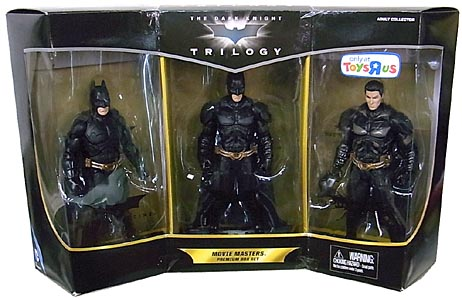 MATTEL 映画版 THE DARK KNIGHT TRILOGY 6インチ MOVIE MASTERS PREMIUM BOX SET