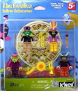 K'NEX THE BEATLES YELLOW SUBMARINE BUILDABLE SET [SGT PEPPERS LONELY HEARTS CLUB BAND]