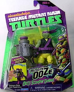 PLAYMATES NICKELODEON TEENAGE MUTANT NINJA TURTLES ベーシックフィギュア MUTAGEN OOZE OOZE SCOOPIN' DONNIE