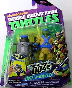PLAYMATES NICKELODEON TEENAGE MUTANT NINJA TURTLES ベーシックフィギュア MUTAGEN OOZE OOZE LAUNCHIN' LEO