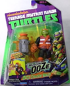 PLAYMATES NICKELODEON TEENAGE MUTANT NINJA TURTLES ベーシックフィギュア MUTAGEN OOZE OOZE CHUCKKIN' MIKEY
