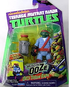 PLAYMATES NICKELODEON TEENAGE MUTANT NINJA TURTLES ベーシックフィギュア MUTAGEN OOZE OOZE TOSSIN' RAPH