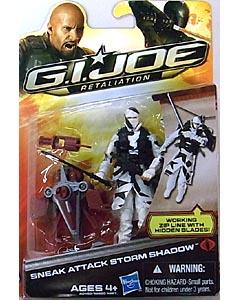 HASBRO 映画版 G.I. JOE: RETALIATION シングル SNEAK ATTACK STORM SHADOW