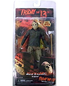 NECA FRIDAY THE 13TH 7インチアクションフィギュア SERIES 2 PART 4 THE FINAL CHAPTER JASON VOORHEES [BATTLE DAMAGED]
