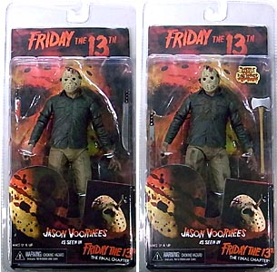 NECA FRIDAY THE 13TH 7インチアクションフィギュア SERIES 2 PART 4 THE FINAL CHAPTER JASON VOORHEES 2種セット