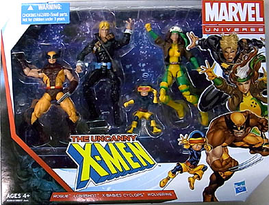 HASBRO MARVEL UNIVERSE 4PACK THE UNCANNY X-MEN