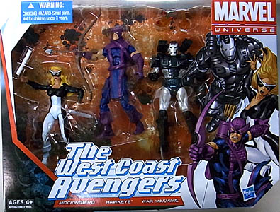 HASBRO MARVEL UNIVERSE 3PACK THE WEST COAST AVENGERS