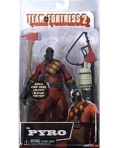 NECA PLAYER SELECT TEAM FORTRESS 2 DX 7インチアクションフィギュア THE PYRO