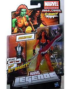 HASBRO MARVEL LEGENDS 2013 SERIES 1 HIT MONKEY SERIES HULKETTES RED SHE HULK