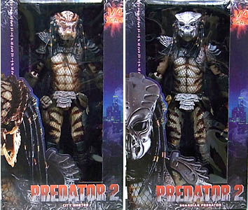 NECA PREDATOR 1/4スケール PREDATOR 2 CITY HUNTER [UNMASKED] & GUARDIAN PREDATOR 2種セット
