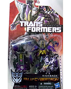 HASBRO TRANSFORMERS GENERATIONS FALL OF CYBERTRON DELUXE CLASS KICKBACK