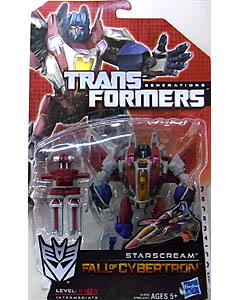 HASBRO TRANSFORMERS GENERATIONS FALL OF CYBERTRON DELUXE CLASS STARSCREAM