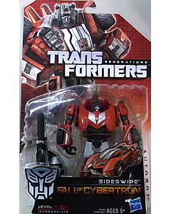 HASBRO TRANSFORMERS GENERATIONS FALL OF CYBERTRON DELUXE CLASS SIDESWIPE