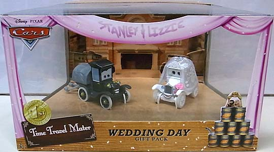 MATTEL CARS 2013 USAディズニーテーマパーク限定 TIME TRAVEL MATER WEDDING DAY GIFT PACK パッケージ傷み特価