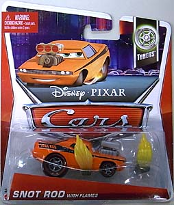 MATTEL CARS 2013 シングル SNOT ROD WITH FLAMES