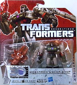 HASBRO TRANSFORMERS GENERATIONS LEGENDS CLASS MEGATRON & CHOP SHOP