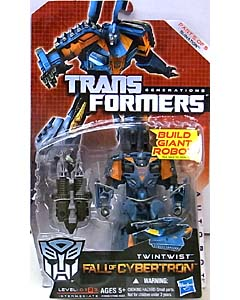 HASBRO TRANSFORMERS GENERATIONS FALL OF CYBERTRON DELUXE CLASS TWINTWIST [RUINATION]