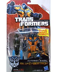 HASBRO TRANSFORMERS GENERATIONS FALL OF CYBERTRON DELUXE CLASS AUTOBOT WHIRL [RUINATION]