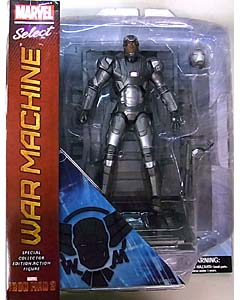 DIAMOND SELECT MARVEL SELECT 映画版 IRON MAN 3 WAR MACHINE パッケージ傷み特価