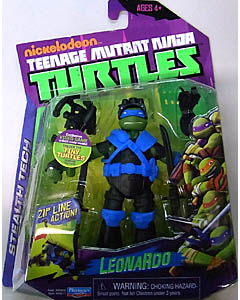 PLAYMATES NICKELODEON TEENAGE MUTANT NINJA TURTLES ベーシックフィギュア STEALTH TECH LEONARDO