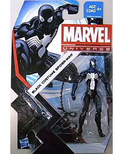 HASBRO MARVEL UNIVERSE SERIES 5 #007 BLACK COSTUME SPIDER-MAN ブリスターハガレ特価