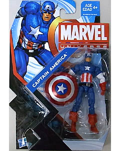 HASBRO MARVEL UNIVERSE SERIES 5 #004 CAPTAIN AMERICA