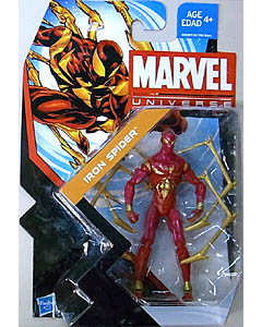HASBRO MARVEL UNIVERSE SERIES 5 #008 IRON SPIDER