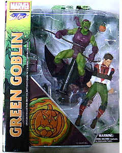 DIAMOND SELECT MARVEL SELECT GREEN GOBLIN & PETER PARKER パッケージ傷み特価