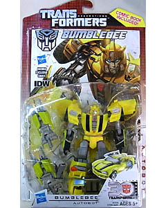 HASBRO TRANSFORMERS GENERATIONS DELUXE CLASS BUMBLEBEE [COMIC BOOK INCLUDED]