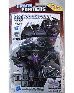HASBRO TRANSFORMERS GENERATIONS DELUXE CLASS MEGATRON [COMIC BOOK INCLUDED]