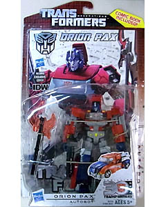HASBRO TRANSFORMERS GENERATIONS DELUXE CLASS ORION PAX [COMIC BOOK INCLUDED] ブリスターイタミ特価