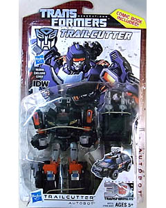 HASBRO TRANSFORMERS GENERATIONS DELUXE CLASS TRAILCUTTER [COMIC BOOK INCLUDED] ブリスター傷み特価