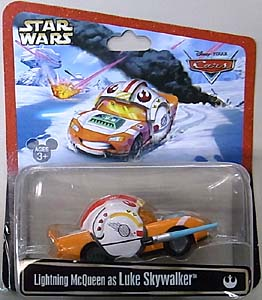 CARS 2013 USAディズニーテーマパーク限定 LIGHTNING McQUEEN AS LUKE SKYWALKER