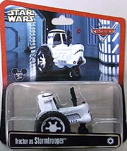 CARS 2013 USAディズニーテーマパーク限定 TRACTOR AS STORMTROOPER