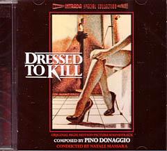 DRESSED TO KILL 殺しのドレス ケースヒビワレ特価