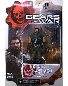 NECA GEARS OF WAR 4インチアクションフィギュア シリーズ2 DOMINIC SANTIAGO