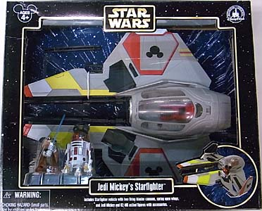 STAR WARS USAディズニーテーマパーク限定 STAR TOURS JEDI MICKEY'S STARFIGHTER