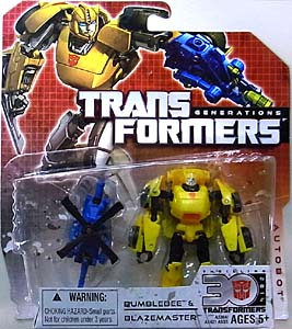 HASBRO TRANSFORMERS GENERATIONS LEGENDS CLASS BUMBLEBEE & BLAZE MASTER