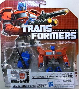 HASBRO TRANSFORMERS GENERATIONS LEGENDS CLASS OPTIMUS PRIME & AUTOBOT ROLLER