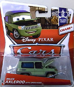 MATTEL CARS 2013 シングル CHASE MILES AXLEROD WITH OPEN HOOD ブリスター傷み特価