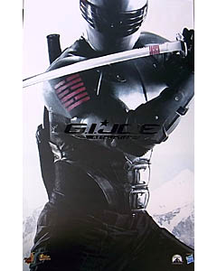 HOT TOYS MOVIE MASTERPIECE 1/6スケール 映画版 G.I. JOE: RETALIATION SNAKE EYES
