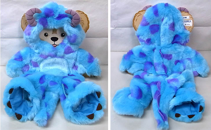 DISNEY USAディズニーテーマパーク限定 DUFFY THE DISNEY BEAR COSTUME [MONSTERS UNIVERSITY SULLEY]