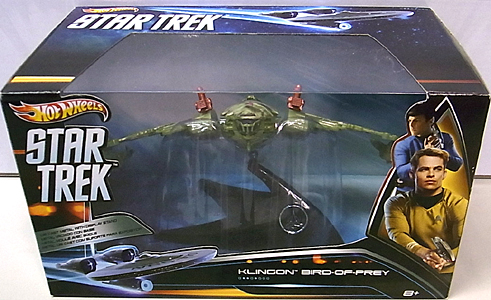 MATTEL HOT WHEELS STAR TREK 1/50スケールダイキャストビークル 2013 KLINGON BIRD-OF-PREY