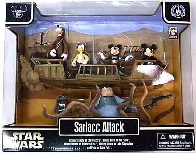STAR WARS USAディズニーテーマパーク限定 フィギュア SARLACC ATTACK 5PACK