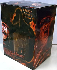NECA A NIGHTMARE ON ELM STREET 7インチアクションフィギュア FREDDY FURNACE DIORAMA