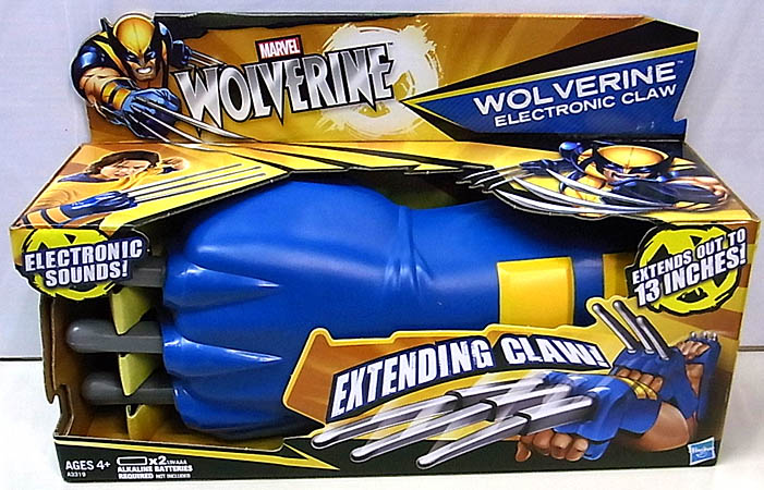 HASBRO WOLVERINE 2013 WOLVERINE ELECTRONIC CLAW