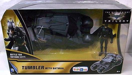 MATTEL 映画版 THE DARK KNIGHT TRILOGY TUMBLER WITH BATMAN